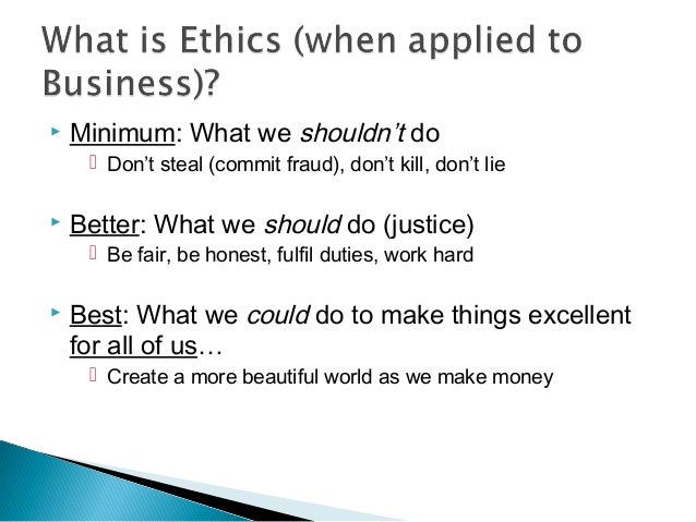 business ethics and its effects and Job and they will be more loyal to that organization therefore, the purpose of this study is to examine the impact of a hotel's business ethics on its employees' job satisfaction, and organizational commitment.