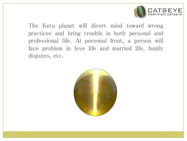 Effects of Wearing Cats Eye Gemstone