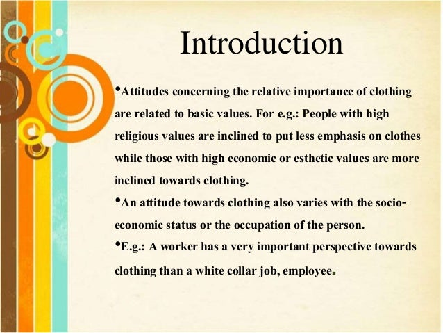 an introduction to the importance of values Strategic leadership and decision making 15 values and ethics introduction the bedrock of our profession spent some time talking about the importance of.