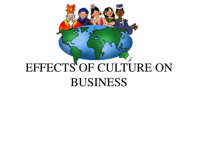 The pervasive impact of culture on