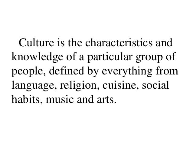 The Differences in Culture and the Effects of Global Business