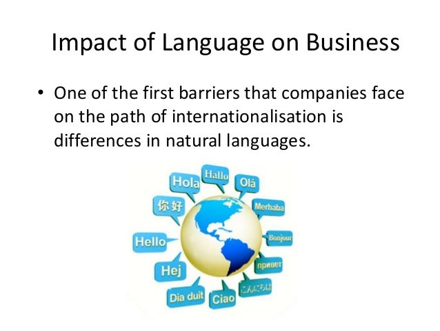 impacts of culture on international business Insights by stanford business  when  when does culture matter in marketing  notions about cultural differences are often the basis for international.