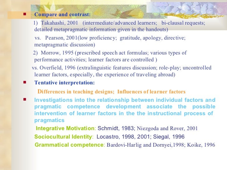 developing pragmatic competence in edeveloping pragmatic Pragmatic development berko gleason ch 6 outline of the class what is linguistic competence what is communicative competence (prag.
