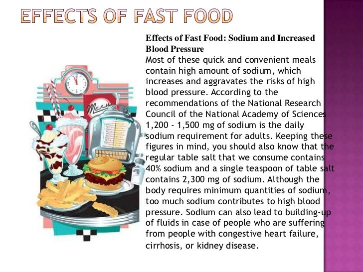 effects of food advertising This research which to study the effect of food advertising influence on children food choices behavior now in this civilized society we ca.