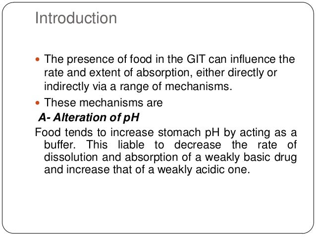 gabapentin absorption food