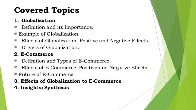 what are the positive and negative effects of globalization