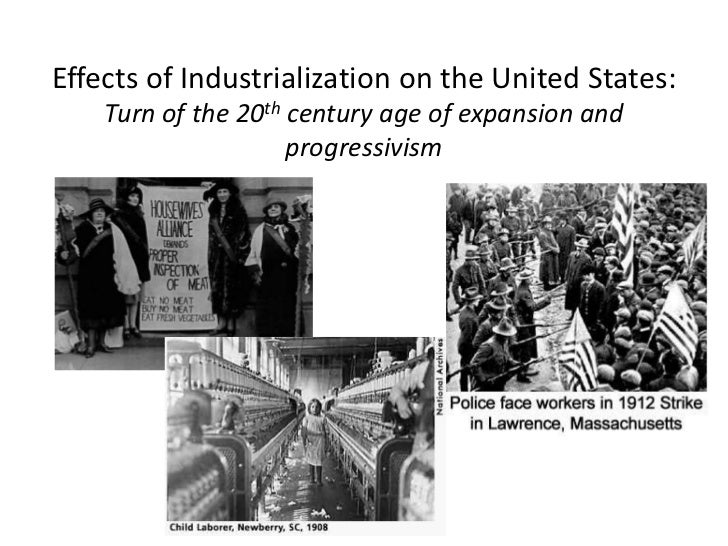 industrialization of the united states essay Industrialization and reform (1870-1916) the industrial growth that began in the  united states in the early 1800's continued steadily up to and through the.