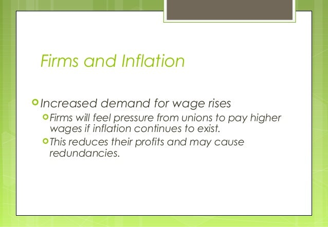 the effects and causes of inflation Inflation signifies that the average prices in an economy are increasing there are many different causes of inflation, resulting from issues on the supply.