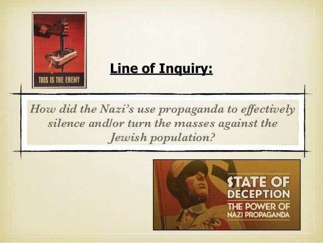 the effects of propaganda in nazi germany Nazi germany propaganda aimed at arabs and muslims during world war ii and   the question of the impact and reception of the propaganda was one that.