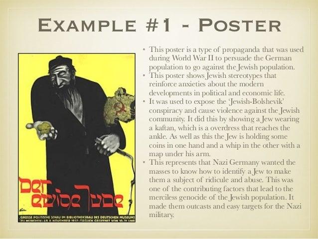 nazi propaganda essay example