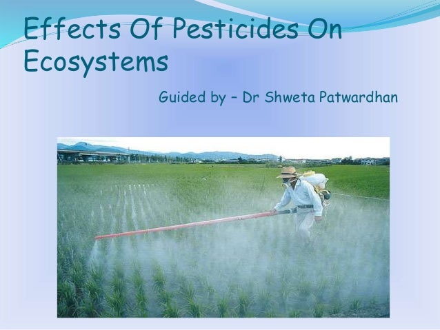 the effect of pesticides on humans Unlike chemical pesticides, each approved organic product must pass a set of rigorous standards to comply with usda organic regulations the criteria for these organic-certified products are put in place to reduce negative effects to people, animals, and the environment.