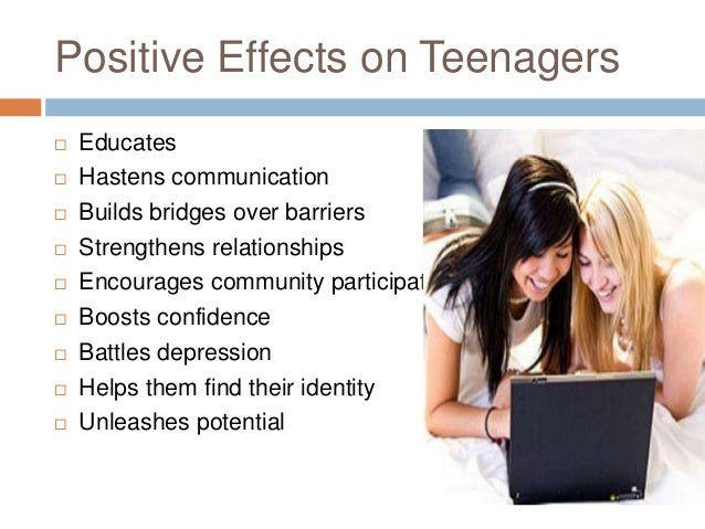 Social effects of technology on teens