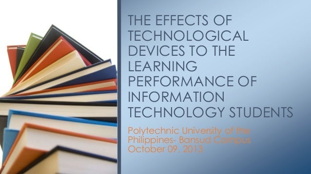 effects of technology on students academic performance pdf