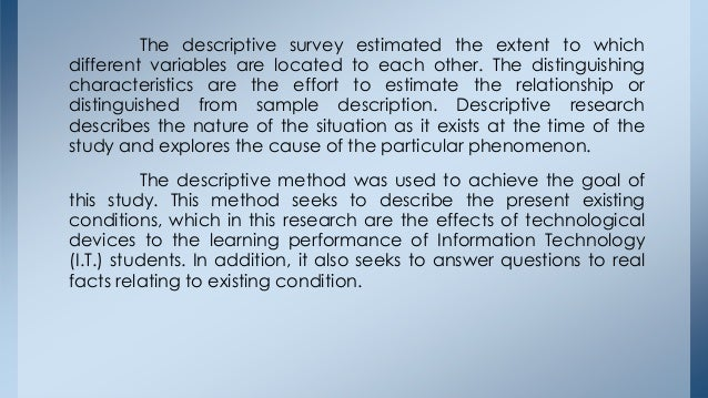 Example thesis topics information technology