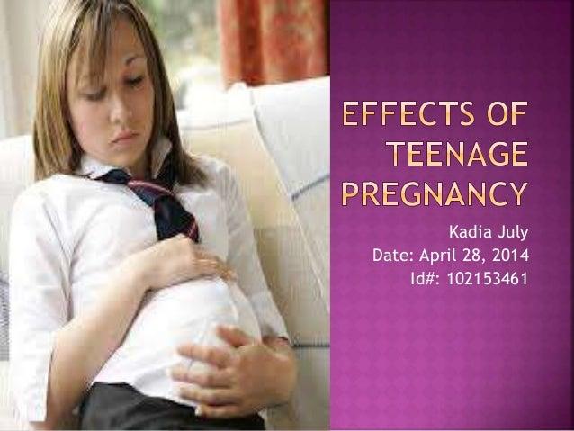 Causes Teenage Pregnancy Essay