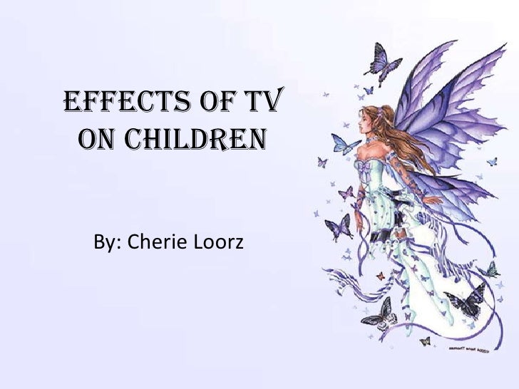 an analysis of effects of television on children Most of us are generally aware that television isn't the the harmful effects of tv on your child's the debilitating effects of tv on children.