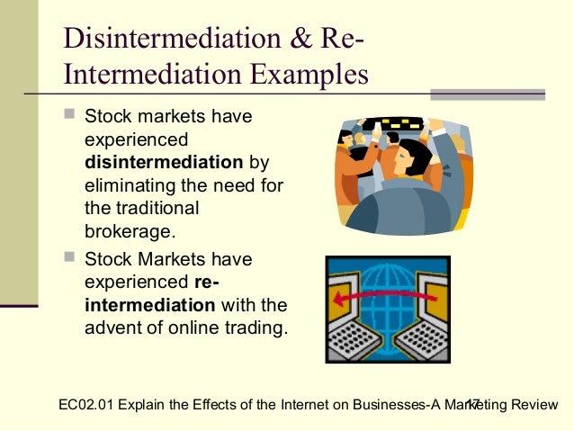 Reintermediation examples.