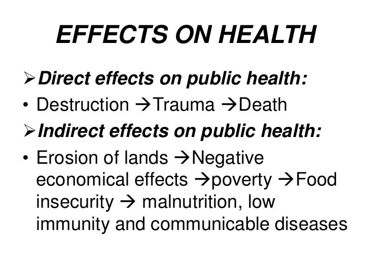 impacts of public health expenditures on Read chapter 5 the health care delivery system: the anthrax incidents following the 9/11 terrorist attacks put the spotlight on the nation's public hea.