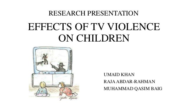 violence in the media research paper After seeing television and video game violence, psychologists are concerned children may be desensitized to the pain and suffering of others, more fearful of the world around them, and more likely to behave in aggressive or harmful ways.
