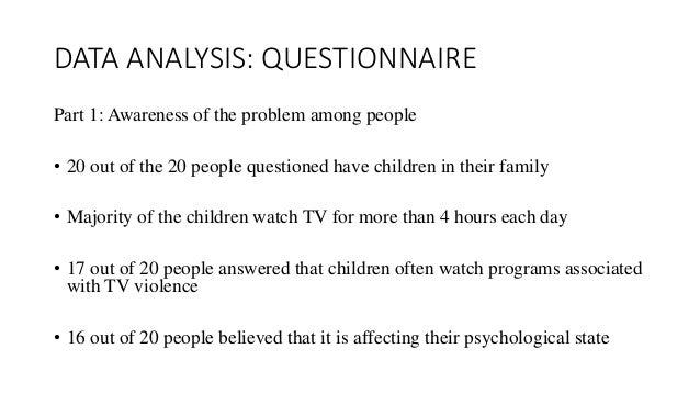 an analysis of children and the effects of television violence Your child home your child topics  longitudinal relations between children's exposure to tv violence and their aggressive and violent behavior in young adulthood .