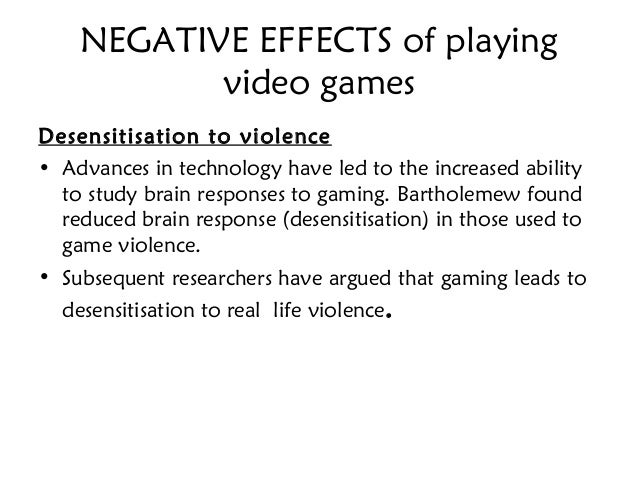 video game effect essay Submit your essay for their time playing video games are likely to suffer from video the side effects of video games is the fact that.