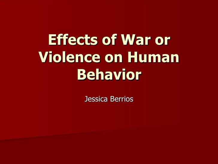 the wars effects on humans The sugar wars: rhetoric or reason have the ill effects of sugar been over-emphasized date: august 27, 2018 source: elsevier summary: over the past 50 years researchers, clinicians, professional.