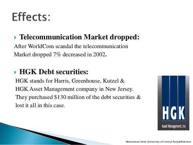 Worldcom And Its Impact On Corporate World