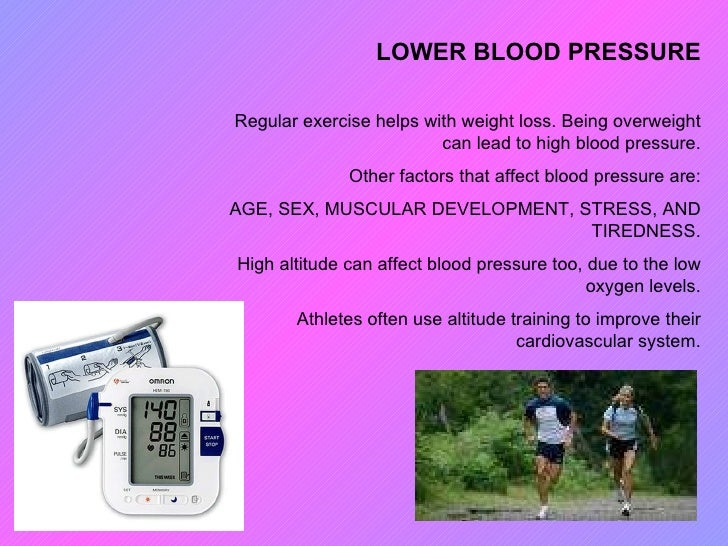 Can sex lower blood pressure
