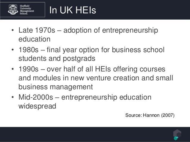 Effectual thinking in entrepreneurship education