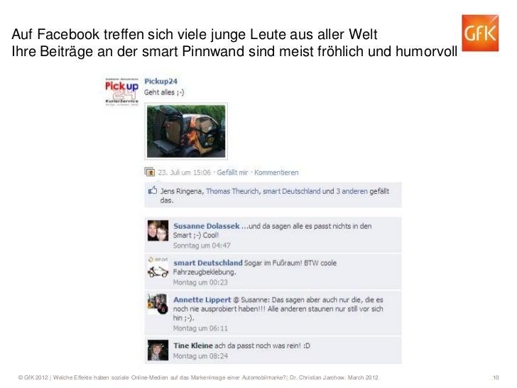Auf Facebook treffen sich viele junge Leute aus aller WeltIhre Beiträge an der smart Pinnwand sind meist fröhlich und humo...