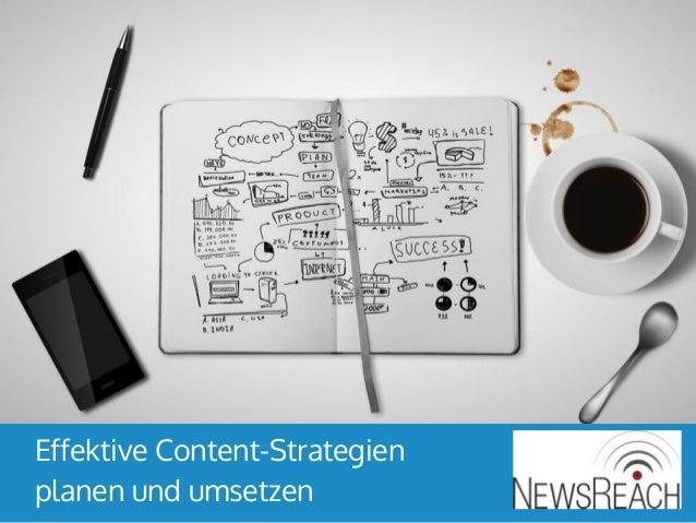 Effektive Content-Strategien planen und umsetzen