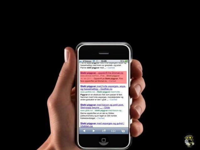 «Google har spådd at 44 % av søk ettergaver og butikker kommer på mobil idesember – har du råd til å gi dem endårlig bruke...