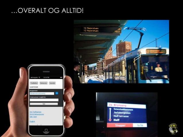 MÅL ANTALL MOBILE BESØK PÅ NETTSTEDET