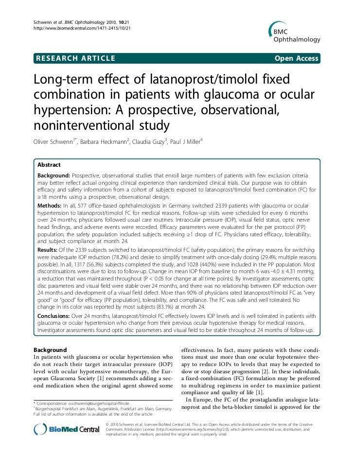 Schwenn et al. BMC Ophthalmology 2010, 10:21http://www.biomedcentral.com/1471-2415/10/21 RESEARCH ARTICLE                 ...