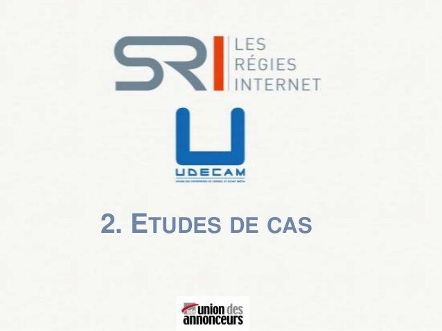 2. ETUDES DE CAS