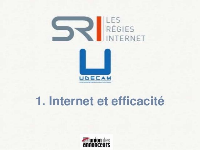 1. Internet et efficacité