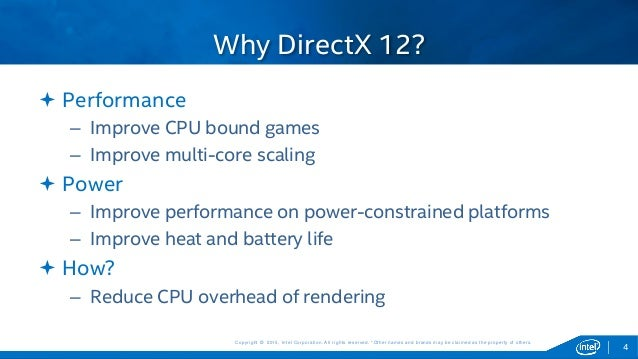 Efficient Rendering with DirectX* 12 on Intel® Graphics