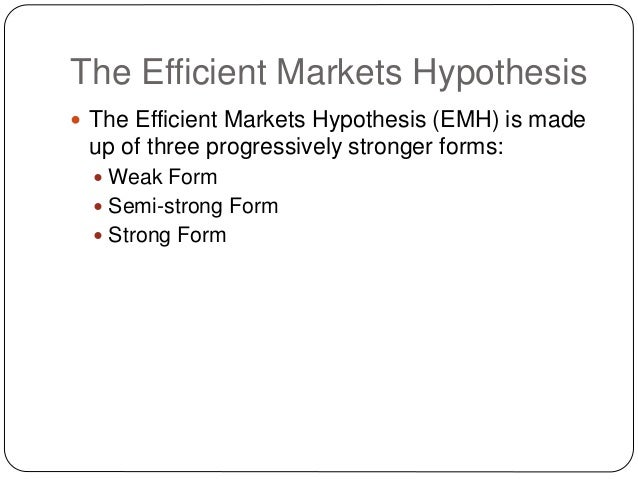 the efficient markets hypothesis 'animal spirits' vs the efficient market hypothesis 13 july 2017 | alex waite  alex waite asks whether actuaries are evolving to remain relevant in their.