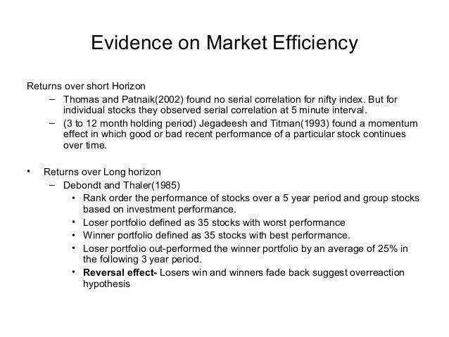 momentum effect index