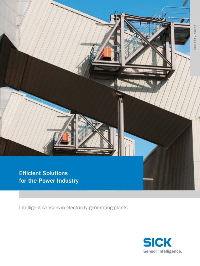 Industry guide  Efficient Solutions for the Power Industry  Intelligent sensors in electricity generating plants