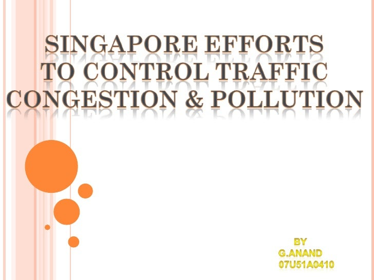 electronic road pricing for traffic congestion essay Economic externality of congestion tax: impact of electronic road pricing (erp) charges on real estate prices in singapore sumit agarwal1, kang mo koo2, tien foo sing3.