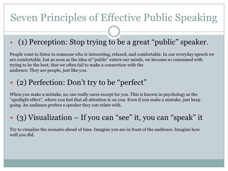Book Review: The 7 Principles of Public Speaking