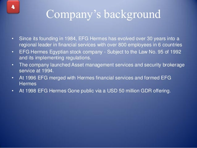 an overview of the fund management company efg hermes Our services » asset management » overview overview efg hermes asset  management is regional, growing and continuously.