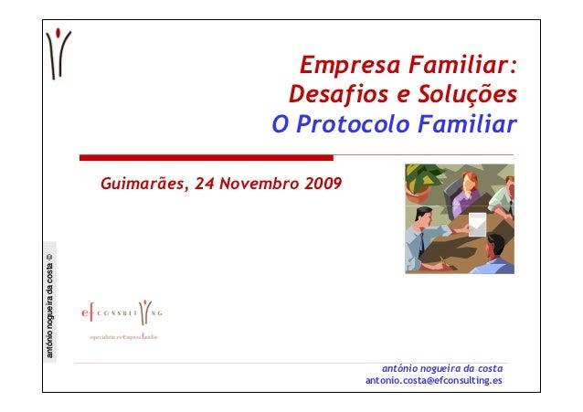 Empresa Familiar:                                                  Desafios e Soluções                                    ...