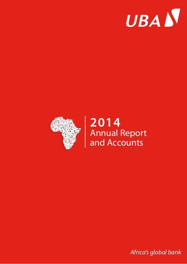 UBA Annual Report 2014