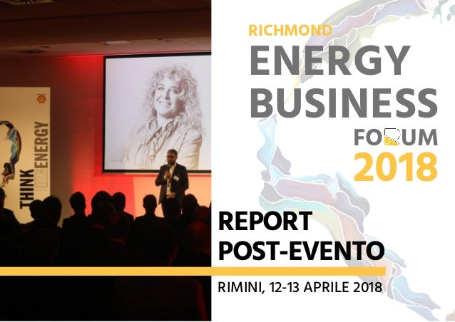 REPORT POST EVENTO ENERGY BUSINESS FORUM 2018