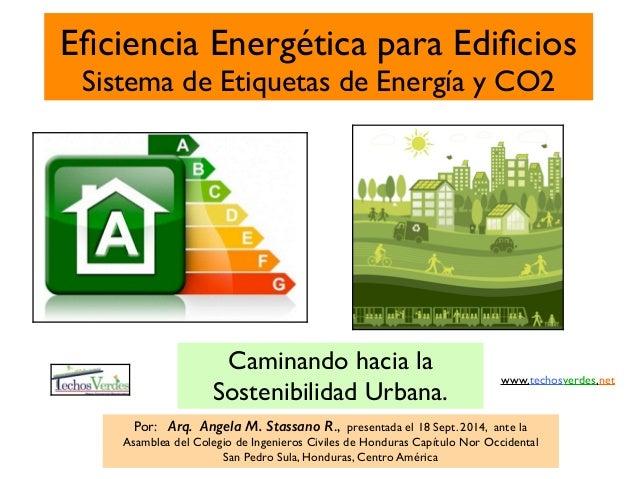 Eficiencia energética en edificios y etiquetas de energia
