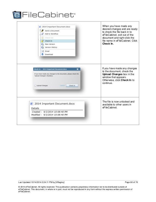 eFileCabinet Online User Guide