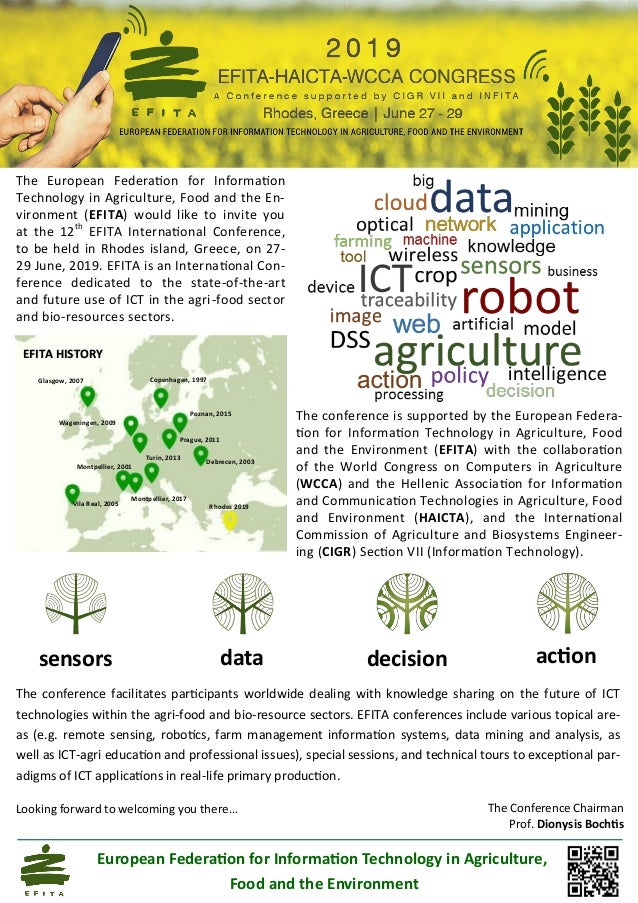 sensors data decision action The conference facilitates participants worldwide dealing with knowledge sharing on the futur...