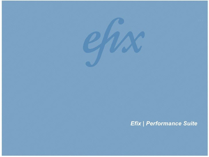 |1|Efix | Performance Suite